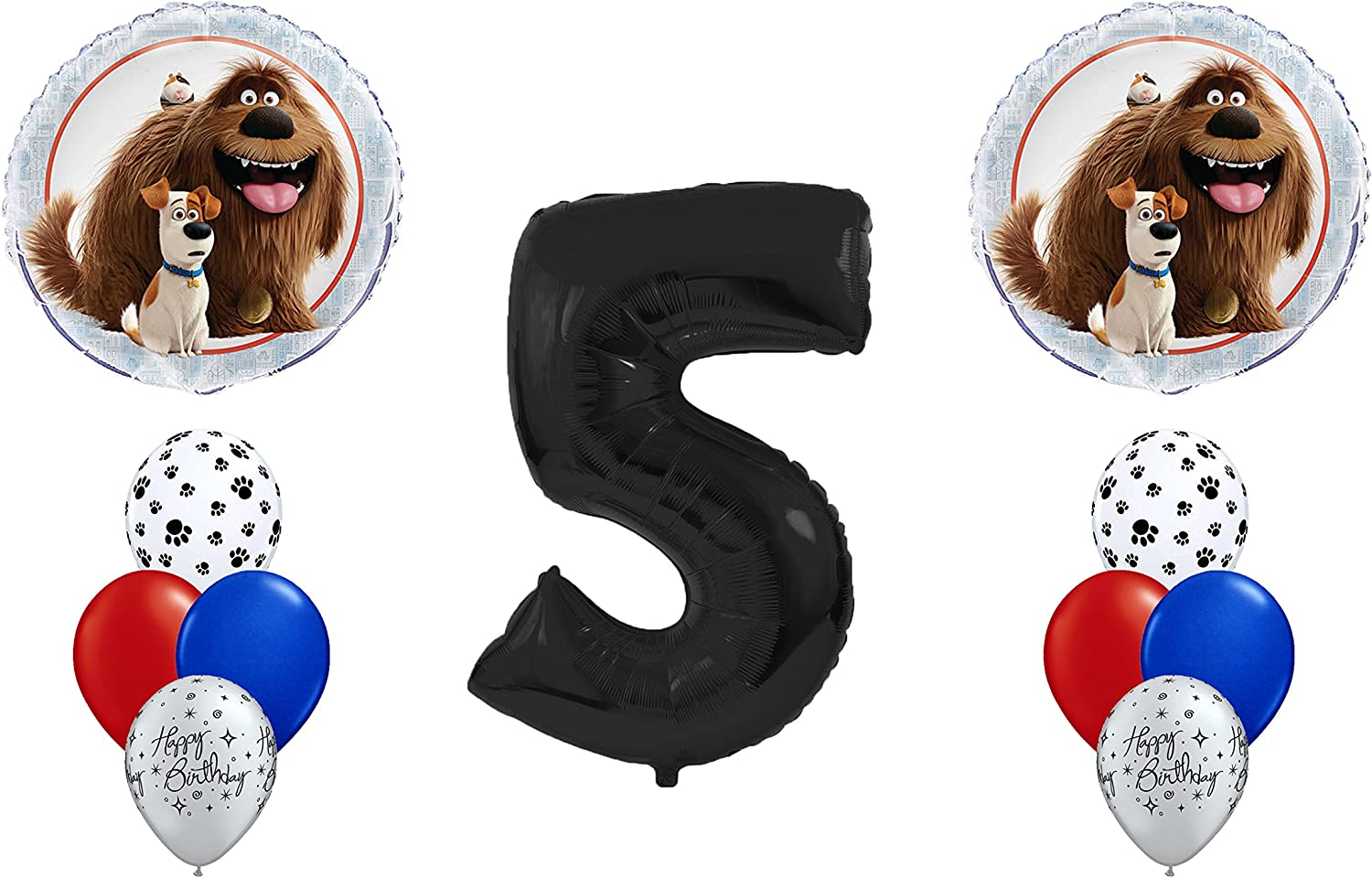 ventas calientes Disney The Secret Life of Pets Party Pack  5th 5th 5th Birthday Balloon Bouquet by Partysupplybyspursgrl  alto descuento