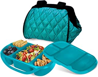 Smart Planet Portion Perfect Puffer Bag Set, Turquoise