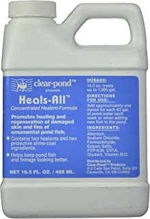 Clear Pond Heals-All Fish Medication, 16-1/2-Ounce