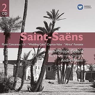 Saint-Saëns: Piano Concertos 1-5 / Wedding Cake Caprice-Valse / Africa Fantaisie