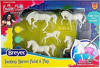 مجموعة دهان الحصان من براير هورسز ستابلماتس فانتاسي | مجموعة من 5 قطع | مقياس 1:32 | موديل #4235
