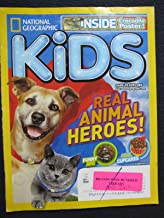 National Geography Kids Real Animal Heroes! August 2013 Magazine