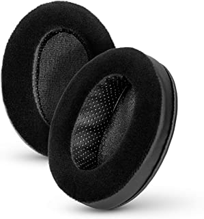 BRAINWAVZ Angled Memory Foam Earpad - Suitable for Large Over The Ear Headphones - AKG, HifiMan, ATH, Philips, Fostex (Hyb...