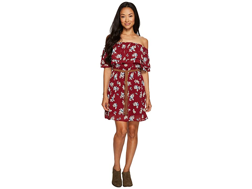 Sanctuary Skylar Dress (Prairie Roses Red) Women