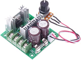 SMAKN CCMHCW DC 12V-40V 400W 10A Adjustable DC Motor Speed Controller PWM Controller