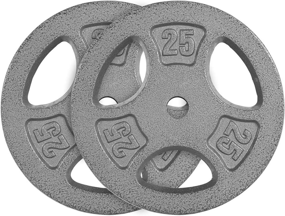 CAP Barbell Standard 1-Inch Grip Single NEW売り切れる前に☆ Gray Weight Plates 高い素材