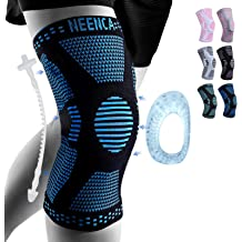 Meniscus Tear Gym Basketball Baseball Running Patellar Tendon Knee Support for ACL Arthritis Pain Compression Sleeve Wrap for Men /& Women Tezz Adjustable Knee Brace with Strap