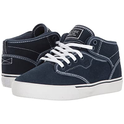 Globe Motley Mid (Little Kid/Big Kid) (Blue/White) Men