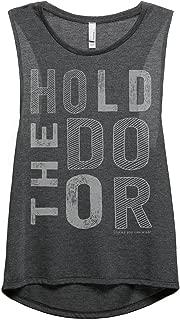 Hold The Door Hodor Women's Sleeveless Muscle Tank Top Tee