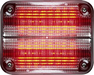 Whelen 900 Series Super LED, Red LED with Clear lens - 90RR5FCR