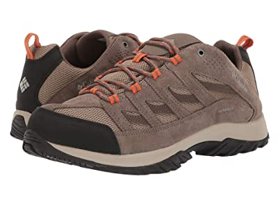Columbia Crestwood Waterproof (Pebble/Desert Sun) Men