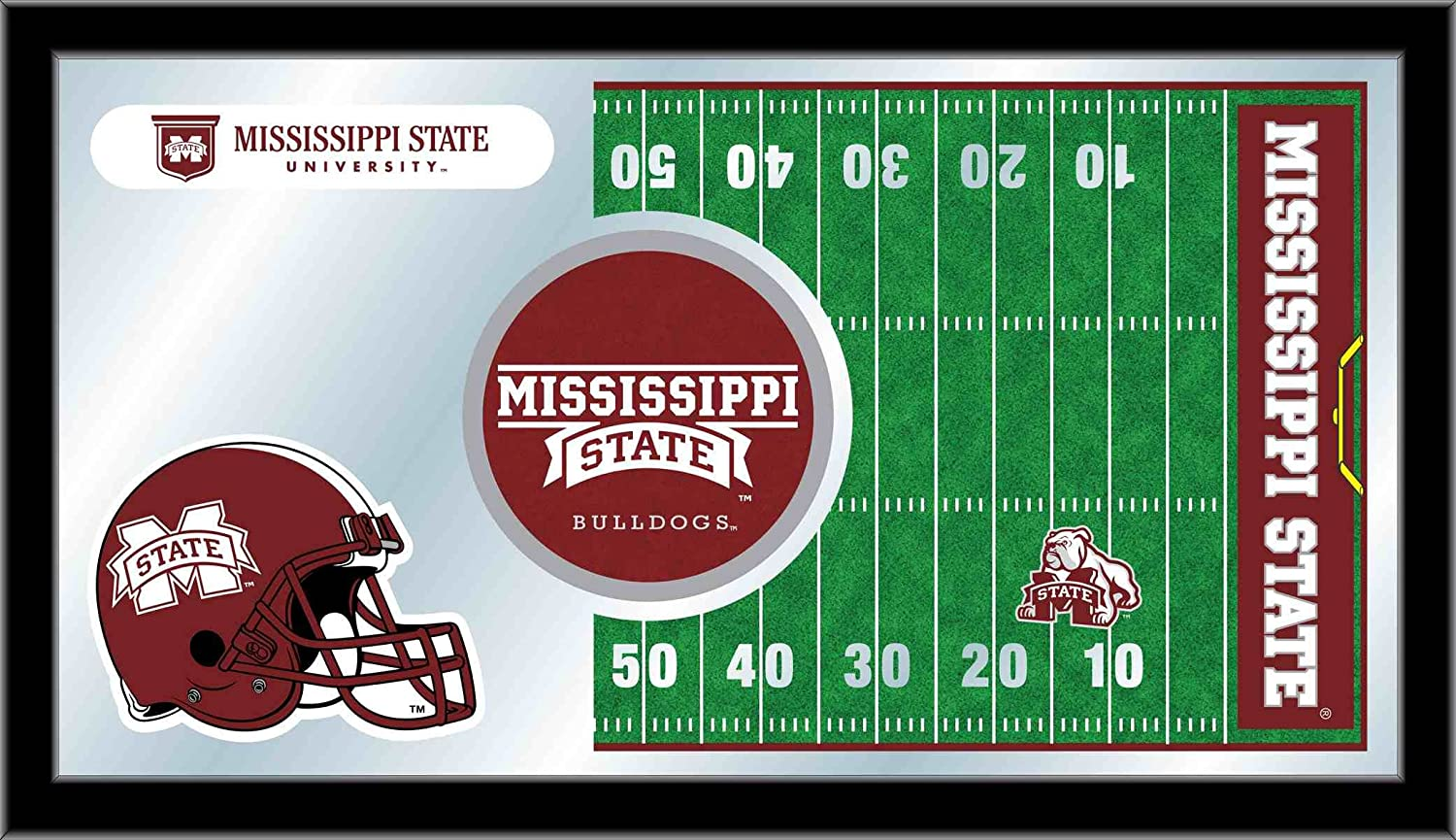 Holland Bar Stool NCAA Mississippi State Bulldogs 15 x 26-Inch Football Mirror