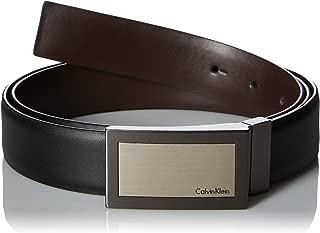 Men's Plaque Buckle 32mm Reversible Belt