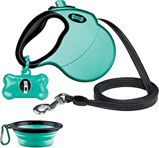 Ruff 'n Ruffus Retractable Dog Leash with Free Waste Bag...