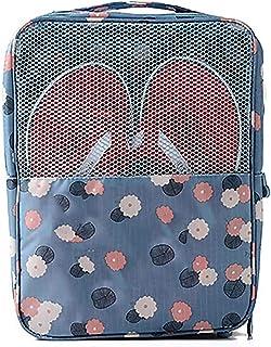 HUI JIN 1 sac de rangement portable pour chaussures avec fermeture éclair - Étanche - Usage quotidien et voyage