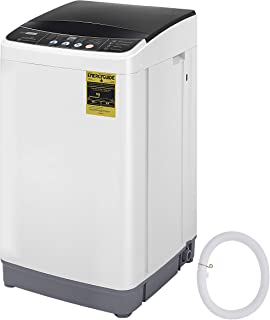 VIVOHOME 2 in 1 Portable Compact Full Automatic Washing Machine with Spin Dryer and Drain Hose for Apartments 12 lbs Capacity