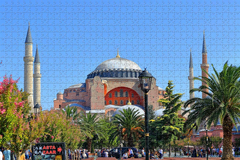 Hagia Sophia Istanbul Church Ayasofya 55% OFF P Piece Direct sale of manufacturer Turkey 1000 Jigsaw