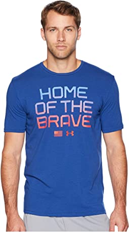 USA Home of The Brave Short Sleeve Tee