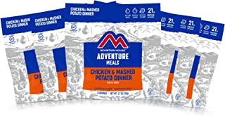 Mountain House Chicken & Mashed Potato Dinner | Freeze Dried Backpacking & Camping Food | 6-Pack | Gluten-Free
