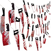 4 Sets Bloody Garland Banner - Halloween Zombie Vampire Party Decorations Supplies