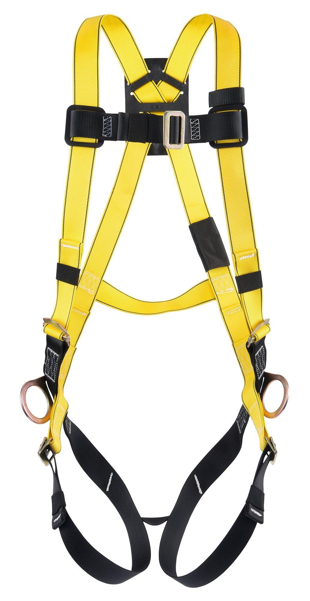 MSA Safety 10072482 estilo arnés de cuerpo entero con qwik-fit ...