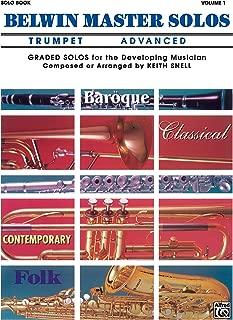 Belwin Master Solos (Trumpet), Vol 1: Advanced