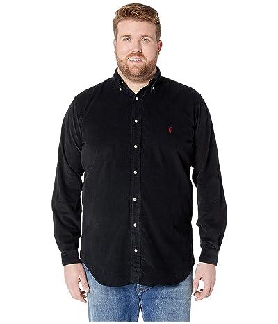 Polo Ralph Lauren Big & Tall Big Tall Corduroy Sportshirt (Polo Black) Men