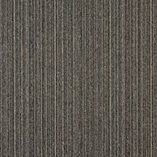 C650 Brown Dark Blue and Beige Vertical Striped Country Style Upholstery Fabric by The Yard