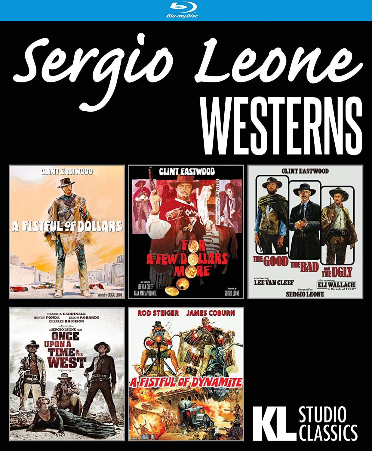 Manufacturer direct delivery Sergio Leone Westerns - Collection Film Five San Francisco Mall