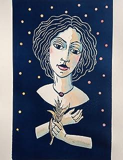 Demeter, diosa de las cosechas, intaglio 50x38
