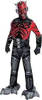 Rubie's Deluxe Mechanical Kids Darth Maul Costume, Medium