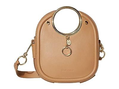 See by Chloe Mara Shoulder Bag (Coconut Brown) Handbags