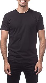 Pro Club Men`s Premium Lightweight Ringspun Cotton Short Sleeve T-Shirt