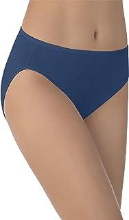 Vanity Fair Women`s Illumination Hi Cut Panties (Regular & Plus Size)