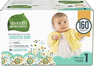 Best seventh generation size 1 diapers Reviews