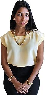 62cf962b30b25 Classic Silk Shell for Women by ROYAL SILK - 100% Silk Crepe de Chine -