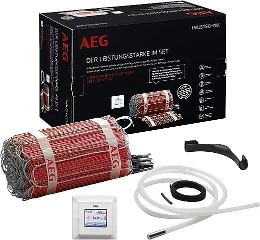 AEG Haustechnik 234355 TBS TC 30 Set 200/1,5 T elektrische Fußbodenheizung THERMO BODEN, Rot, 2.5 m²