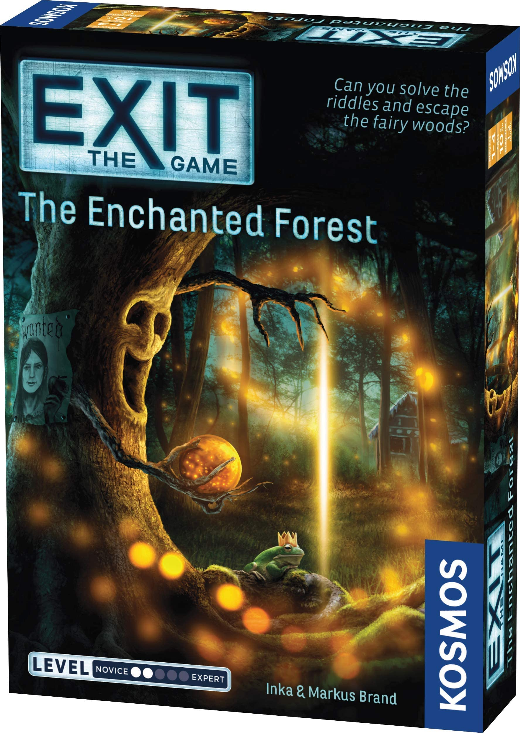 Thames & Kosmos EXIT: The Enchanted Forest| Escape Room Game in a Box| EXIT: The Game | A Kosmos Game | Family Friendly, Card-Based at-Home Escape Room Experience for 1 to 4 Players, Ages 12+