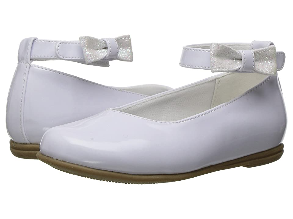 Rachel Kids Lil Louisa (Toddler) (White Patent) Girl