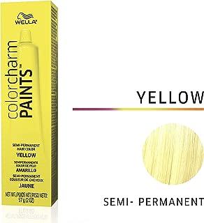 Wella Paints Yellow Semi Permanent Hair Color Yellow