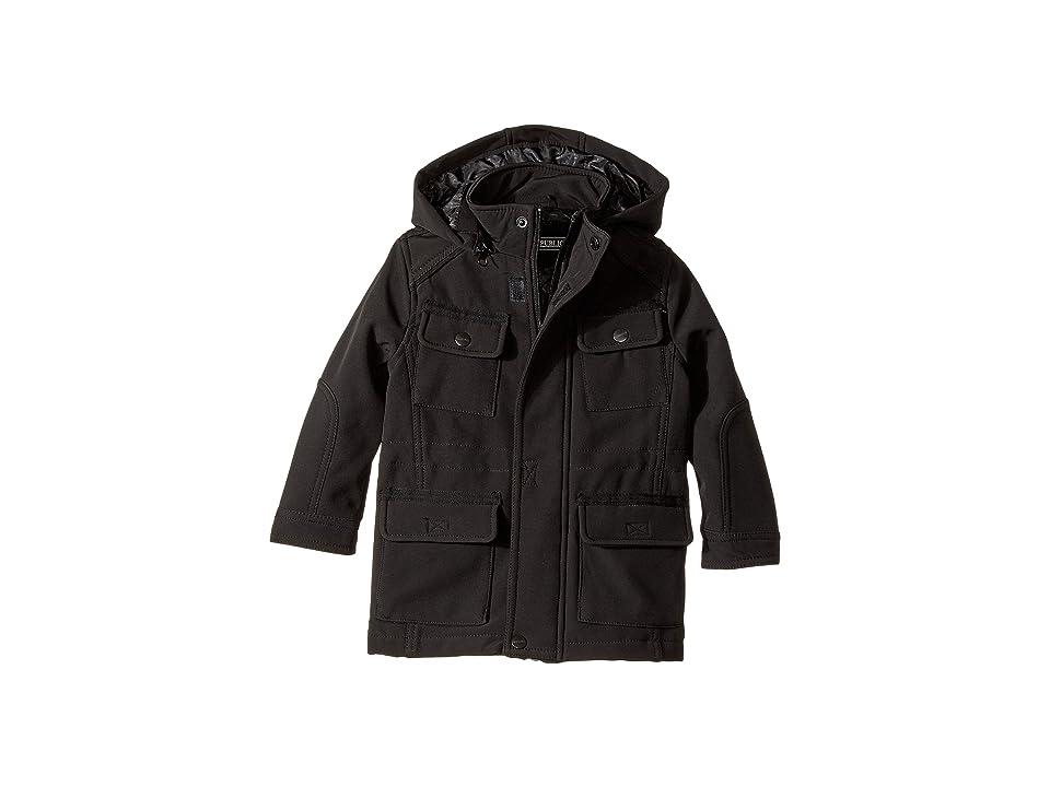 Urban Republic Kids Softshell Bonded Jacket (Toddler) (Black) Boy