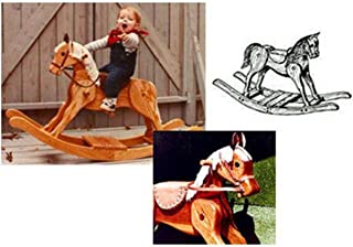 Woodworking Project Paper Plan to Build Merrilegs Rocking Horse