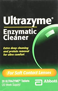 Best ultrazyme contact lens cleaner Reviews