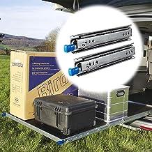 Outech 800mm Ladedia met Slot, 3-voudige Heavy Duty Volledige Uitbreidingskogellager Meubilair Gids Rail, 150 Kg Ladingsca...