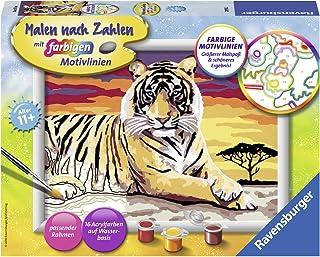 Ravensburger - 285532 - Numéro d'art Set Tigre Majestueux