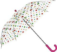 Baciami Paraguas para Niños - Transparentes ? 74cm - Paraguas Infantil Niña