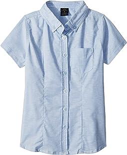 Short Sleeve Oxford Shirt (Big Kids)