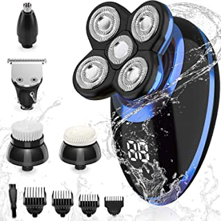 Sponsored Ad – SEFON Electric Shavers for Men Bald Head,Razors Shaving 5-in-1 5D haircut USB Rechargeable LED Cordless,Rot...