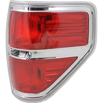 cciyu Black Housing//Smoke Lens ALTEZZA Style Side Tail Light Assembly Replacement fit for 1997-2003 Replacement fit ford F-150 Pair Set