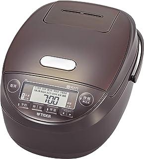 TIGER 虎牌 保温瓶 电饭煲 5.5合 压力IH 土锅涂层 现有的 棕色 JPK-B100T